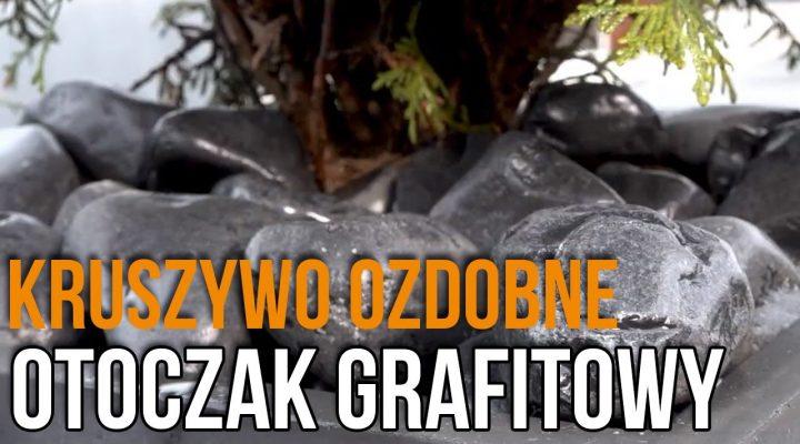 Kruszywa dekoracyjne do Ogrodu – Otoczak grafitowy