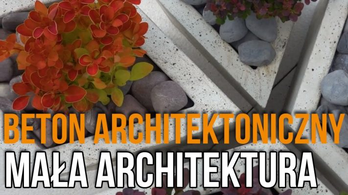 Donice z betonu architektonicznego