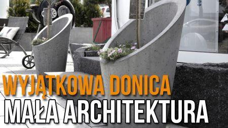 Wyjątkowa Donica z Betonu Architektonicznego
