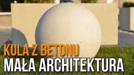 KULE Z BETONU ARCHITEKTONICZNEGO