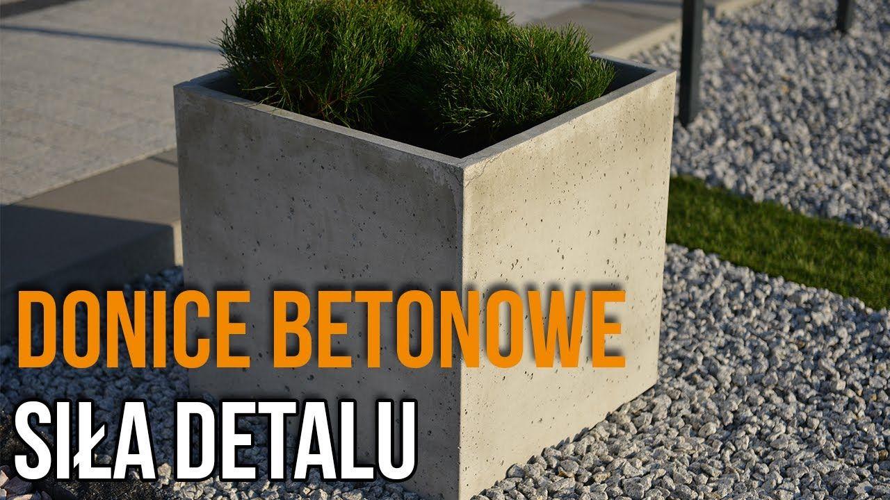 SIŁA DETALU – Donice betonowe
